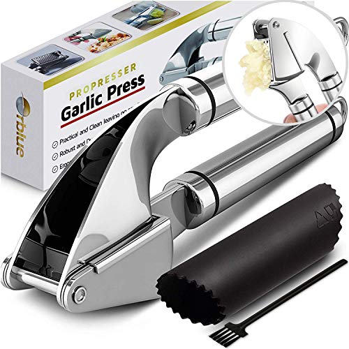 ORBLUE Garlic Press [Premium]