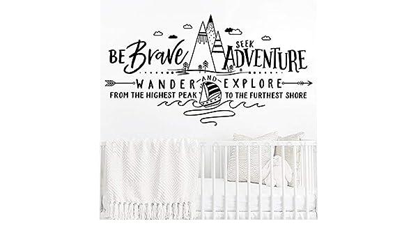 sifengdp Sé Valiente Busca Adventure Wander and Explore Tatuajes ...