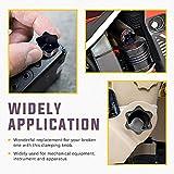 M8 x 60mm Thread Clamping Knob, Thumb Screw, Star