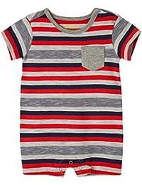 Baby Boy Cotton Romper Newborn Summer Set   Ropa de Vestir Bebe Niño