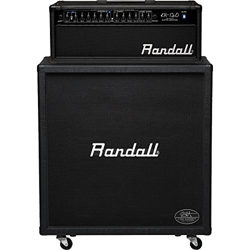 Randall Vintage Amps - Randall KH120RHS Kirk Hammett Series 120-Watt Half Stack Guitar Amp