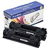 PrintOxe™ Compatible 2 PK Replacement for 35A Black Printing Laser Toners CB435A / CRG712 for Printer Models: LaserJet P1005 and P1006 and for Printers: I-SENSYS LBP3010, 3100, LaserShot LBP 3018 , 3108 , 3050 , 3150 , 3010 , 3100. Exclusively sold by PanContinent