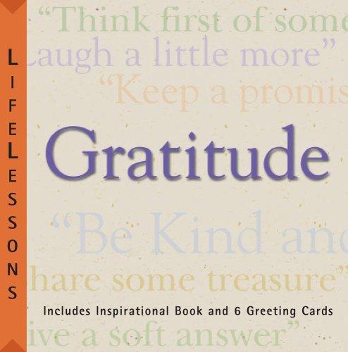 LifeLessons: Gratitude