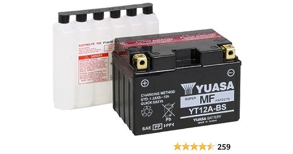 Yuasa/YBX3012 /Bater/ía,12/V 50/Ah