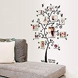 Alicemall Wall Sticker Adesivi da Parete Adesivo Murale Fiori Decorazione Fai da Te in PVC (Stile Dodici)