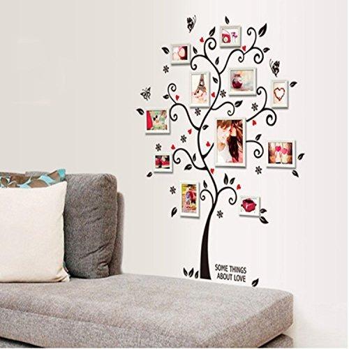 13 opinioni per Alicemall Wall Sticker Adesivi da Parete Adesivo Murale Fiori Decorazione Fai da