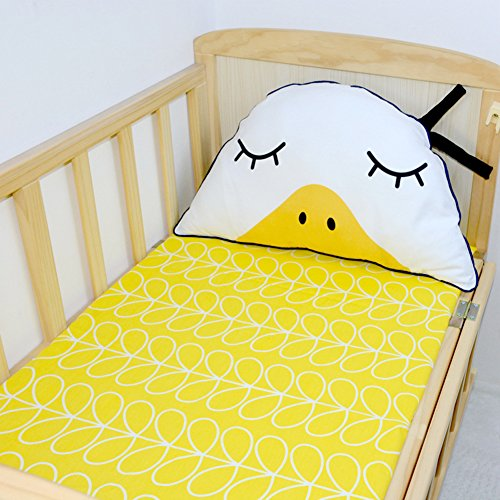 CC Shop Baby Fitted Sheet Cotton Mattress Cover Protector Crib Bed Sheets Bedding Protector ()