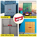 """VEVOR Shipping Container Lock, 9.84""""-17.32"""" Locking"""