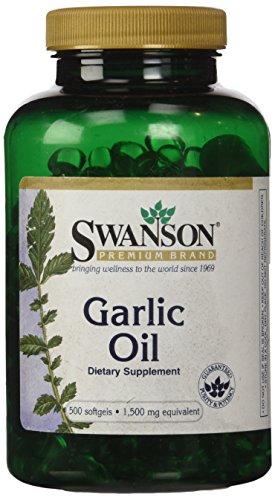 Swanson Garlic Equivalent Milligrams Sgels