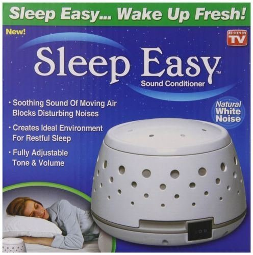 Sleep Easy Sound Conditioner, White Noise Machine, New by Sleep Easy