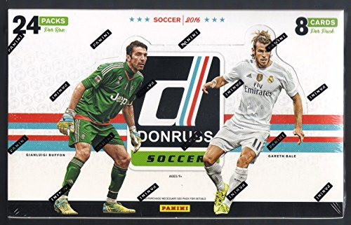 2016 Panini Donruss Soccer HOBBY box (24 pk) - Soccer Hobby Box