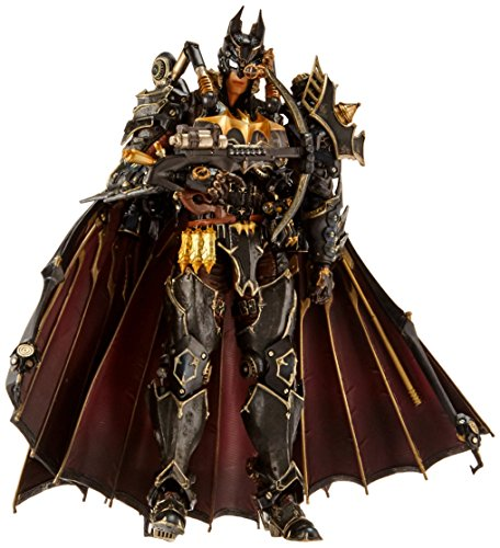 Square Enix DC Comics Variant Play Arts Kai Batman Action Figure (Steampunk Version)