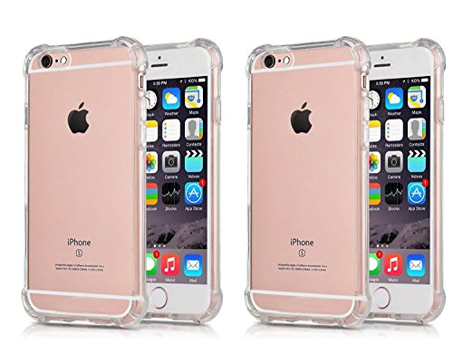 CaseHQ Protective Shock Absorption Anti Scratch Corners clear