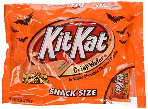 Kit Kat Orange Halloween Treats, Snack Size, 10.29-Ounce bag ()
