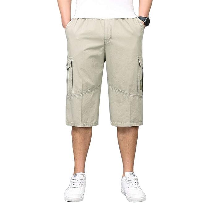 Verano Capri Pantalones Ketamyy Hombres Grande Bermudas Talla 34 dQxBErCeWo