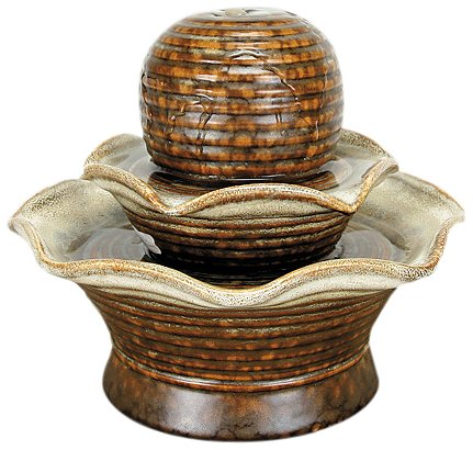 - Nature's Garden Tiered Tabletop Garden Fountain
