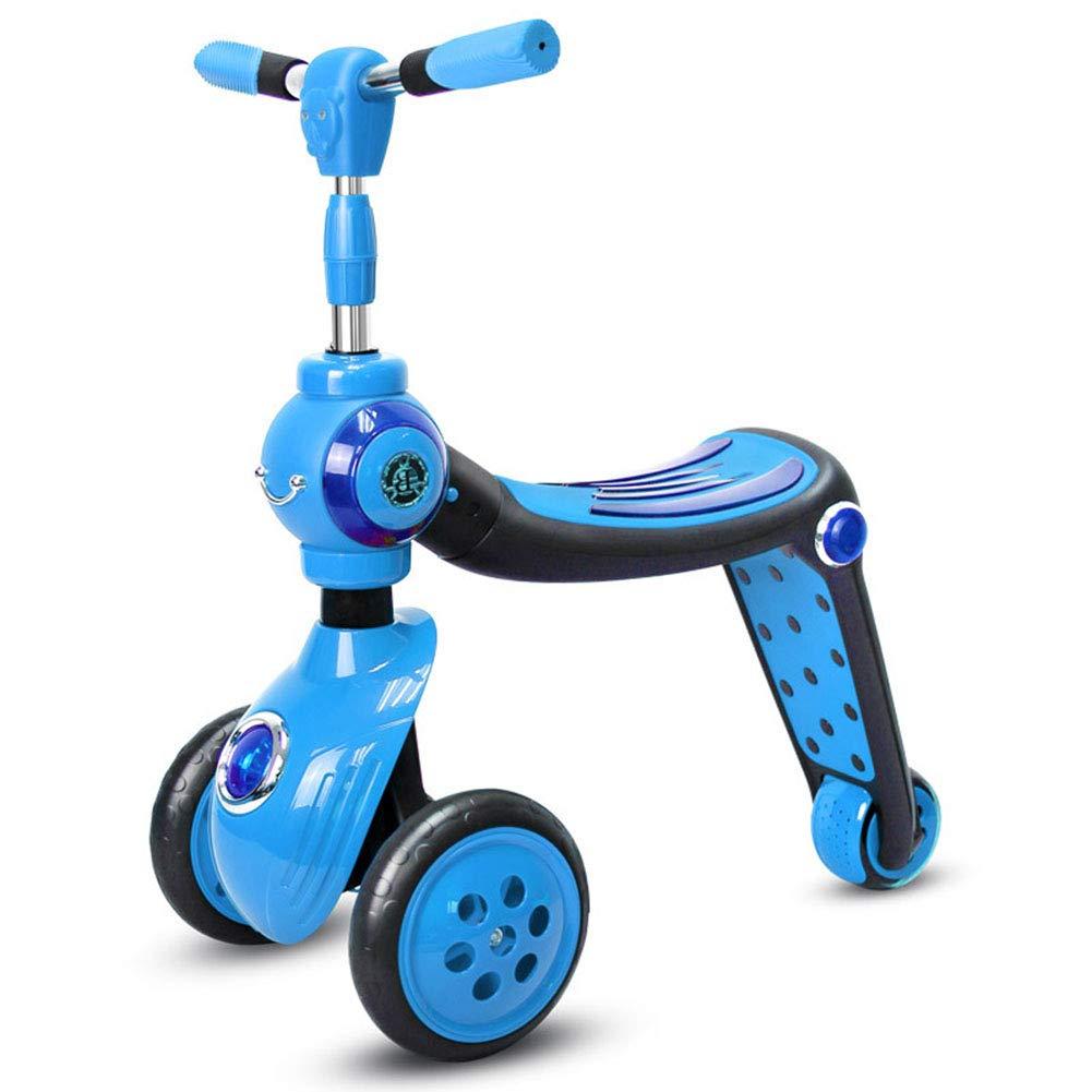 キックスクーター 折りたたみ式 持ち運び便利なベ大人 アルミニウム製 立 取り外し可能シート26歳に最適 B07PMWWXZX blue blue