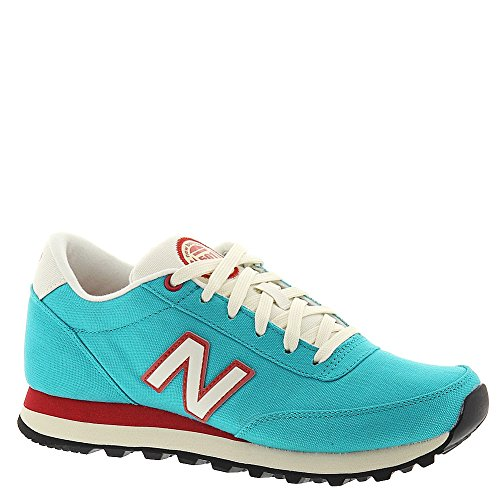 New Balance Classics Traditionnels Teal Womens Trainers Teal