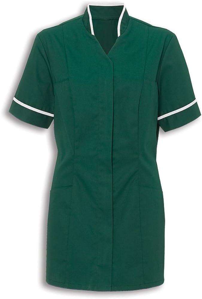 Alexandra Workwear Womens Mandarin Collar Healthcare Tunic