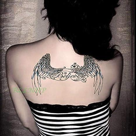 tzxdbh 3Pcs Etiqueta engomada del Tatuaje Temporal Impermeable ...