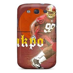 MARYFALVAREZ Scratch-free Phone Case For Galaxy S3- Retail Packaging - Washington Redskins