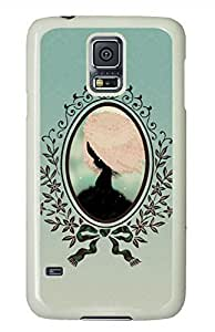 Girl In A Tree White Hard Case Cover Skin For Samsung Galaxy S5 I9600 hjbrhga1544