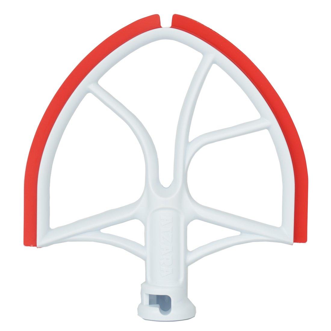 Flat Beater with Flex Edge Bowl Scraper Flat Blade 6-Quart Bowl Lift Mixer