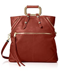 Cynthia Rowley Women's Abbey Convertible Tote, Brandy