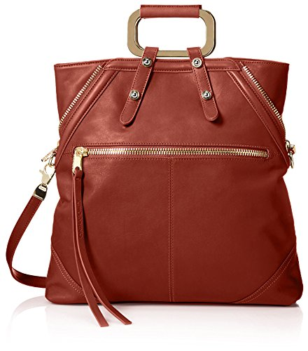 Cynthia Rowley Women's Abbey Convertible Tote, Brandy ()