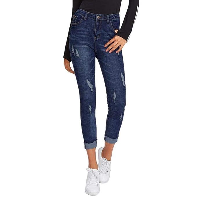 Saoye Fashion Pantalones De Lápiz De Mujer Pantalones ...
