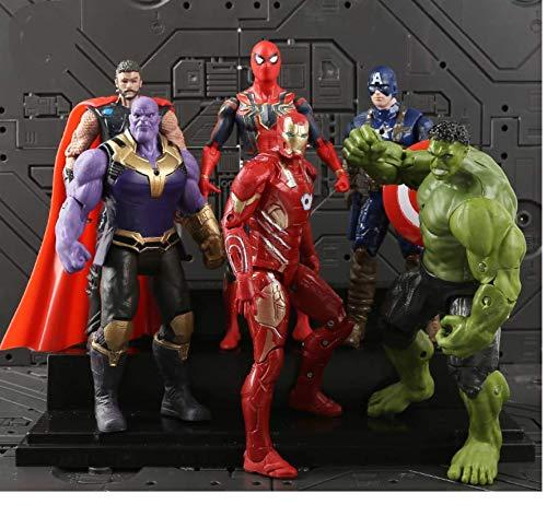 Astra Gourmet 6 PCS The Avengers Figurine Super