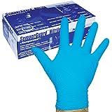 Sempermed 4-Mil Blue Nitrile Gloves-MediumBox/100, Medium