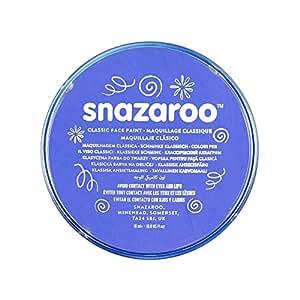 Snazaroo Classic Face Paint, 18ml,Sky Blue