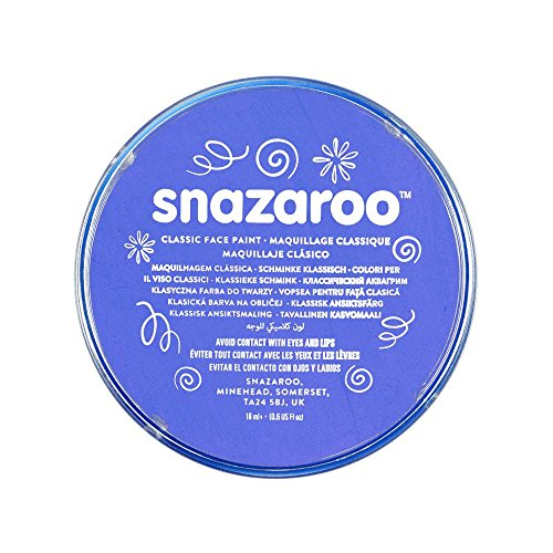 Snazaroo 1118355 Classic Face Paint, 18ml,Sky -