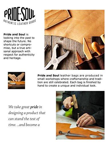 Pride & Soul CANDY - Borsa a tracolla in pelle con 2 scomparti