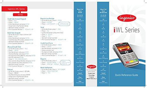 Ingenico iWL250 Wireless GPRS Credit Card Machine