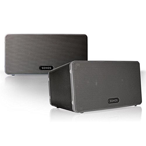 Sonos Play 3 Multi Room Digital Music System Bundle  2   Play 3 Speakers    Black