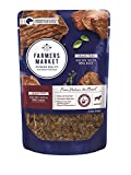 Farmers Market Pet Food Premium Natural Grain-Free Wet Dog Food Pouch, 5.3 oz, BBQ Beef (Case of 24)