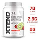 XTEND Original BCAA Powder Strawberry Kiwi Splash | Sugar Free Post Workout Muscle Recovery Drink with Amino Acids | 7g BCAAs for Men & Women| 90 Servings