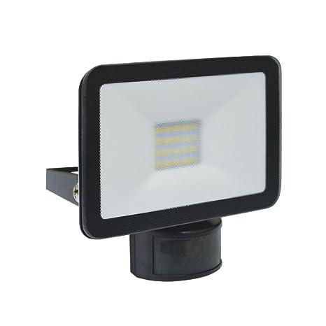 Elro Diseño LED lámpara de exterior con detector de movimiento (10 W, 900 lm