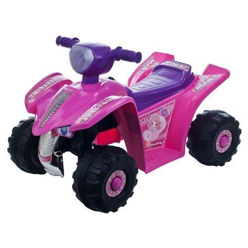 Lil' RiderTM Pink Princess Mini Quad Ride-on Car Four Wheeler Model: (Lil Baby Model)