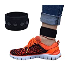 Ankle Band for Fitbit Flex/2, Fitbit One, Fitbit Zip, Fitbit Charge HR 2, Fitbit Alta/HR or Garmin Vivofit/ 2/ 3/ 4/ JR, Misfit Shine/2, Ankle Band for Men and Women