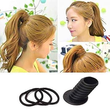 Amazon Hair Ponytail Holder Bump Insert 3 Thick Hair Ties