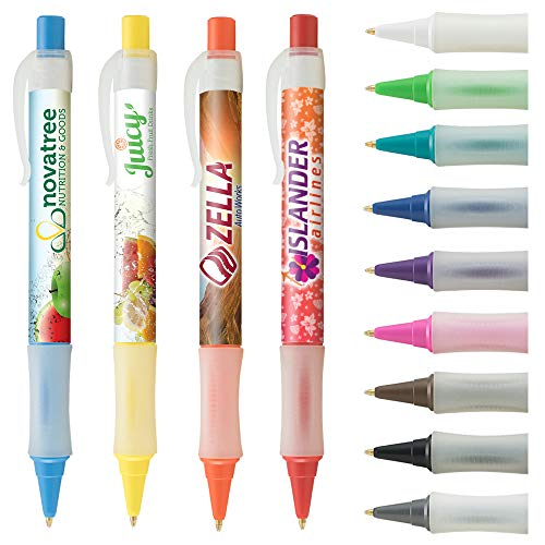 - Custom Pens - Vision Brights Frost - Digital Full Color Wrap Pen - $1.05/pc, Qty 250, No Setup Cost, Personalize With Logo PromoStadiumTM