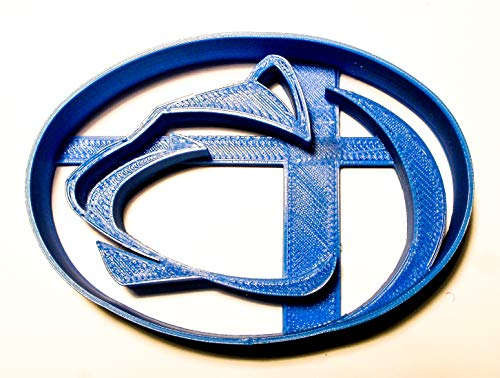 PENN STATE NCAA D1 FOOTBALL SPORTS LOGO SPECIAL OCCASION COOKIE CUTTER BAKING TOOL 3D PRINTED MADE IN USA PR2005