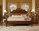 JWLC Imports 37110 87.5'' by 91.5'' by 93.75'' Lisbon Bed, King/Eastern King