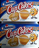 Hostess Orange Cupcakes 8 Count Pack of 2