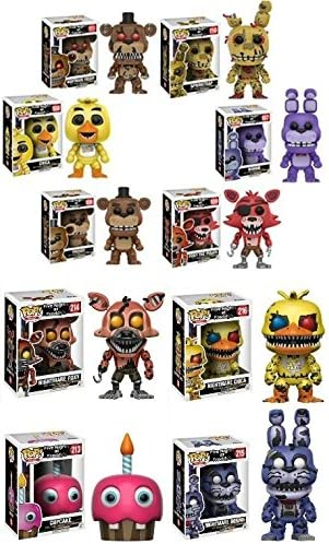Funko POP! Video Game Mystery - Pack de 6 figuras de vinilo estilizadas, aleatorias: Amazon.es: Hogar