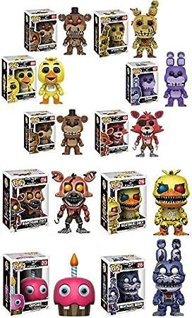 Funko POP! Video Game Mystery - Pack de 6 figuras de vinilo estilizadas, aleatorias: Amazon.es: Hogar