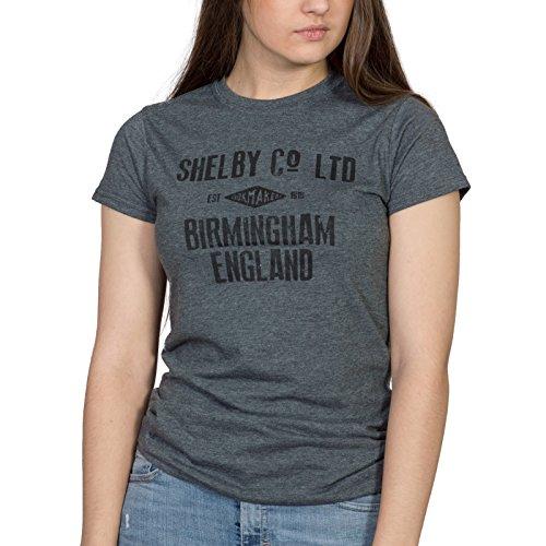shirt Grey Donna Good Jolly Tees Heather Dark T qntIOa0